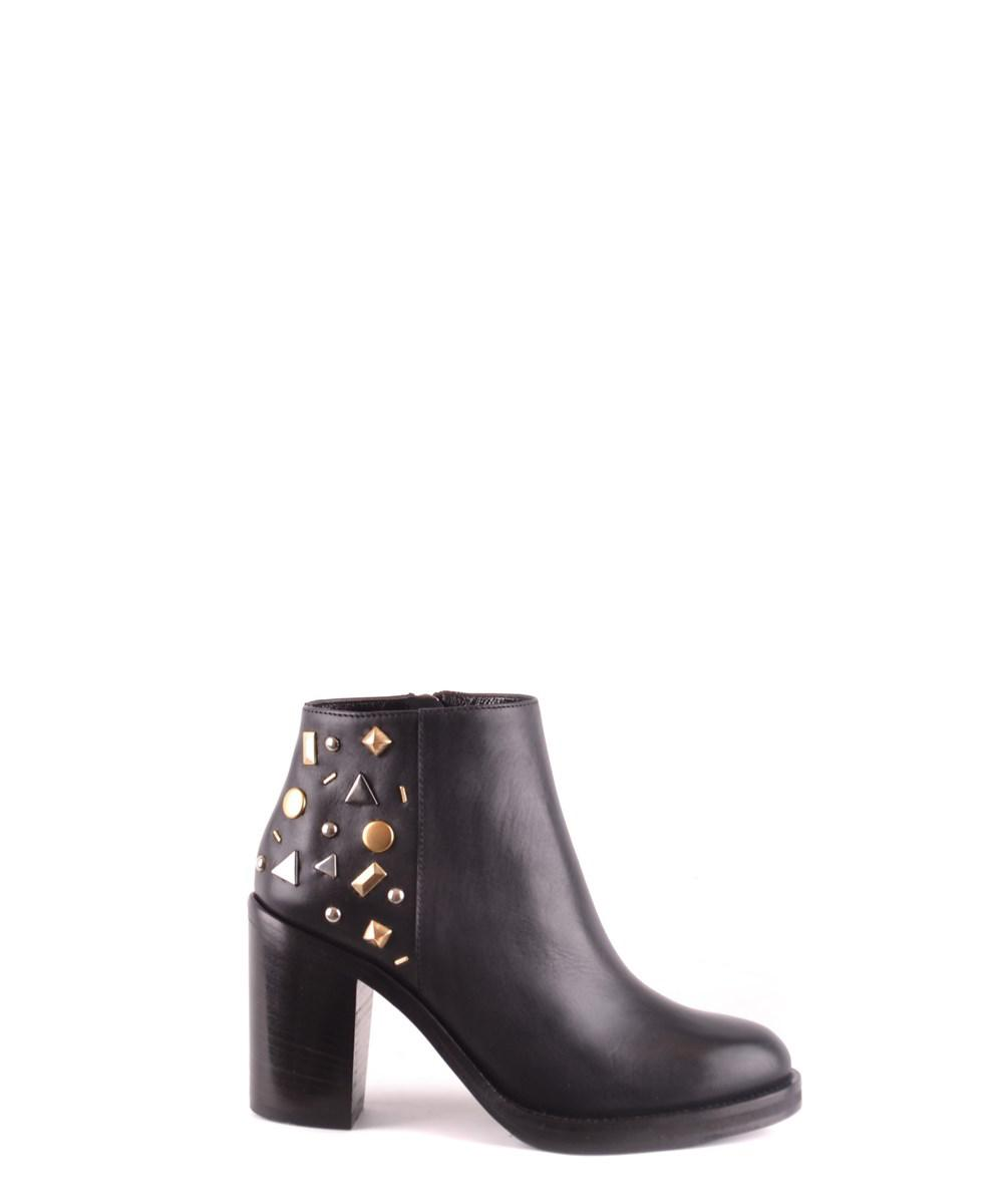 McQ Alexander McQueen EDDY BOOT - Ankle boots - black/white