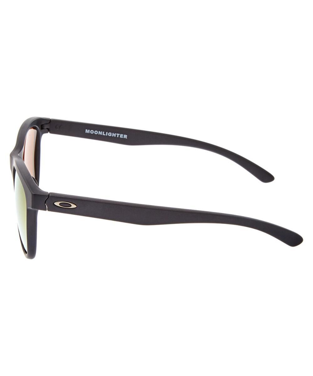 e09f91d361 Lyst - Oakley Women s Moonlighter Polarized Sunglasses in Black