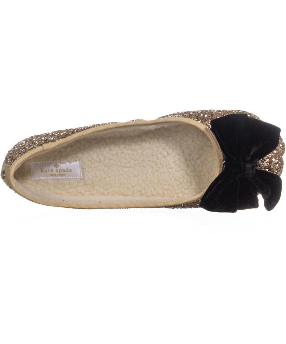 d19f9e646cee Kate Spade - Metallic Sussex Glitter Ballet Flats