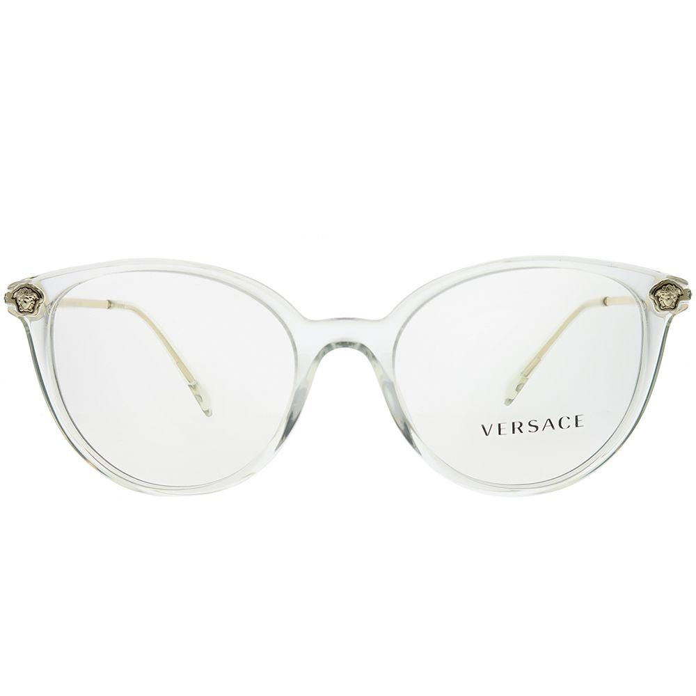 418b598e0c Versace - Multicolor Ve 3251b 148 52mm Crystal Round Eyeglasses - Lyst.  View fullscreen