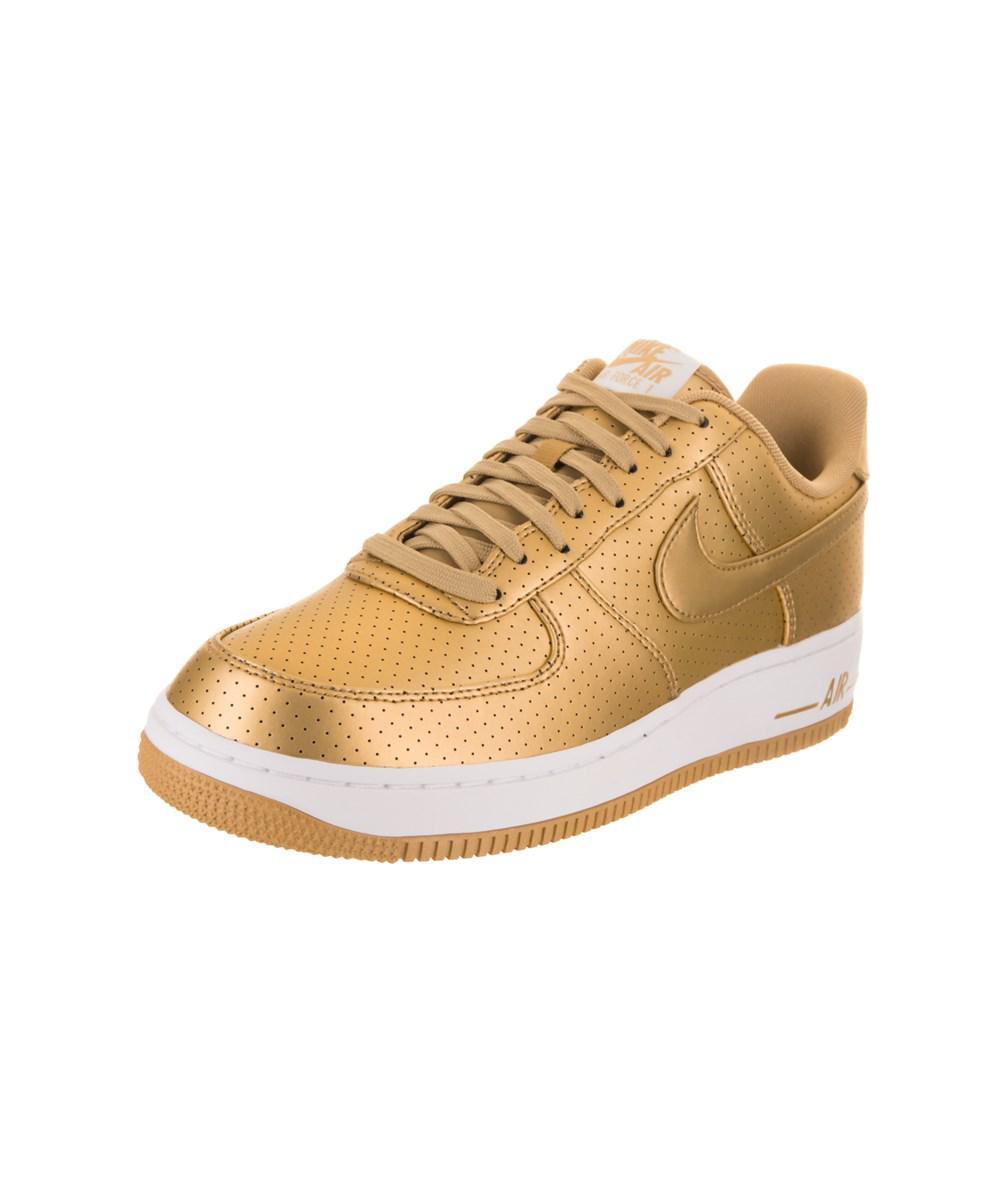 purchase cheap 230df 901b5 Nike. Metallic Men s Air Force 1  07 Lv8 Basketball Shoe