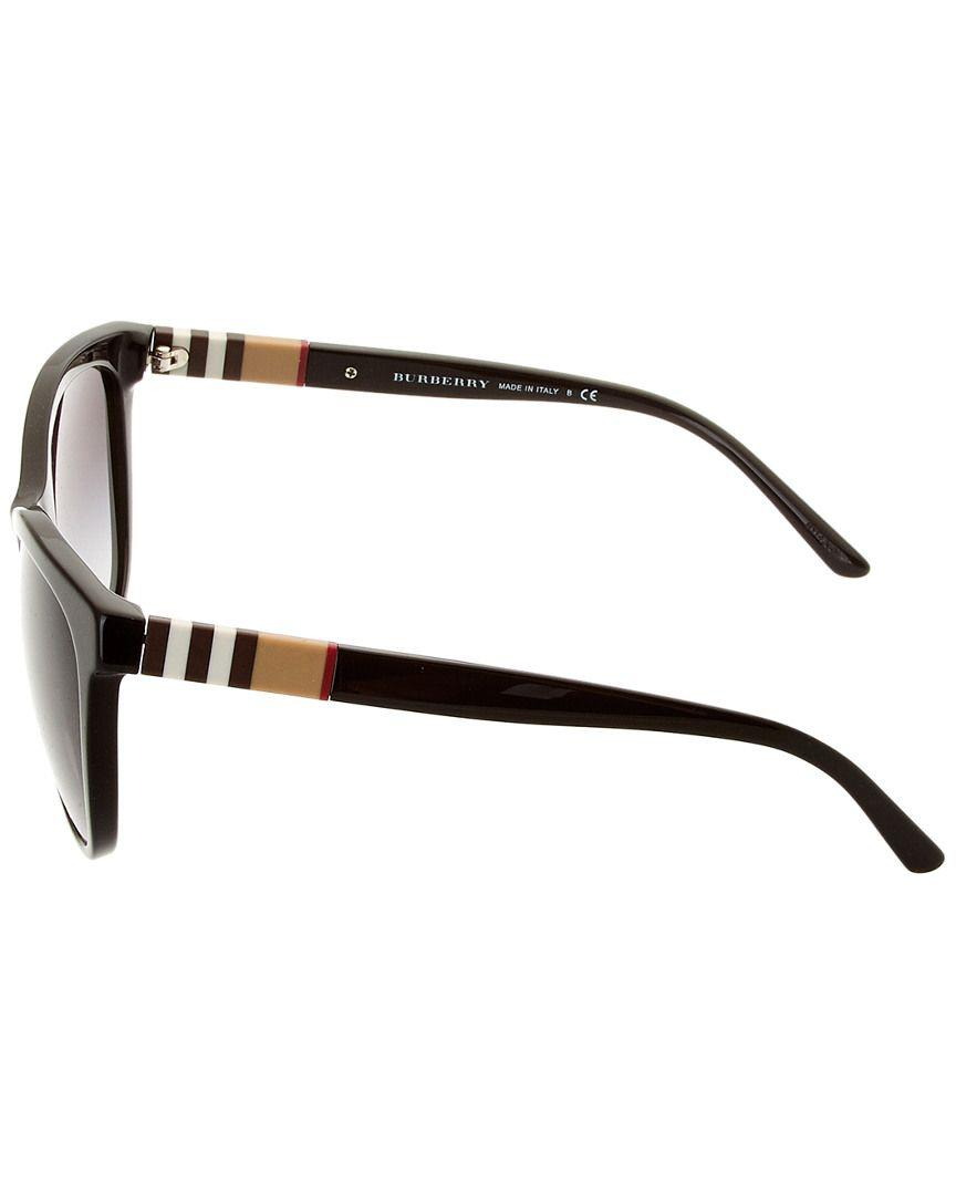 9b7c0c92b2f Lyst - Burberry Unisex Be4199 58mm Sunglasses in Black