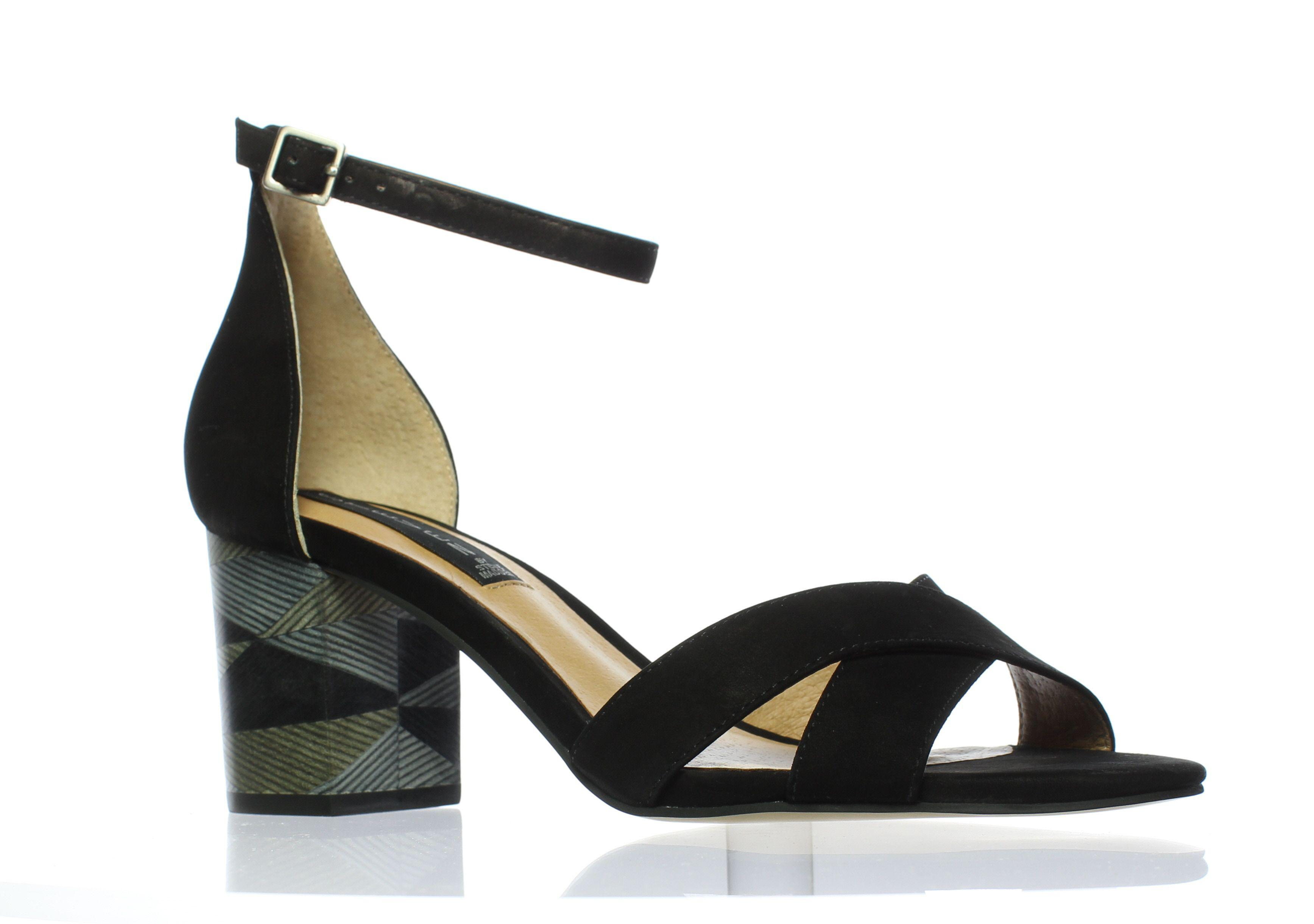 1e53abe30257 Lyst - Steve Madden Womens Voomme-s Black Nubuck Peep Toe Heels in Black