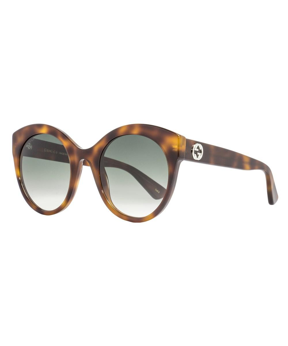 a13ffbbfdd Gucci Cateye Sunglasses Gg0028s 002 Havana 0028 in Brown - Lyst