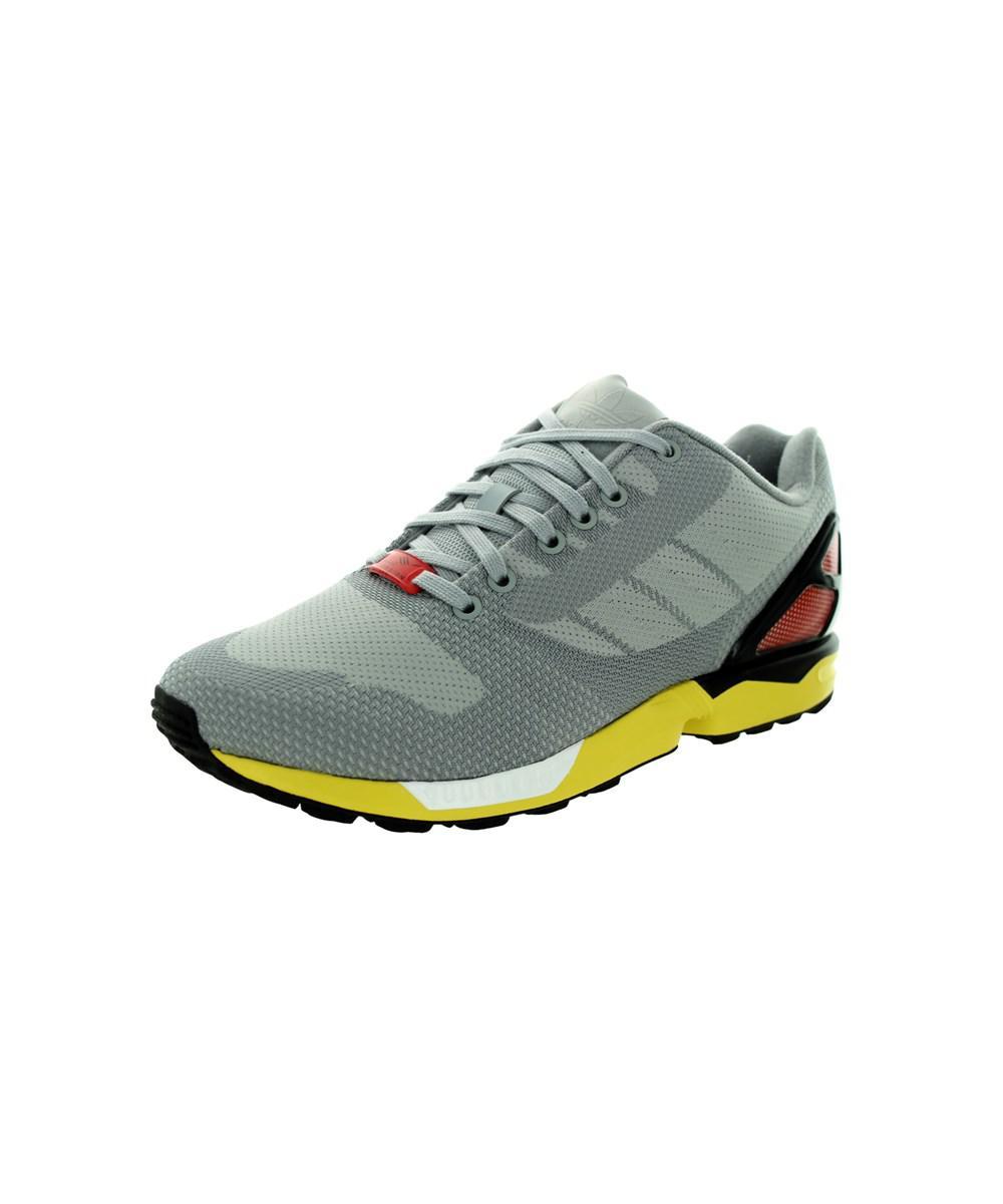 lyst adidas zx flusso tessere originali clonix / ltonix / nero correre
