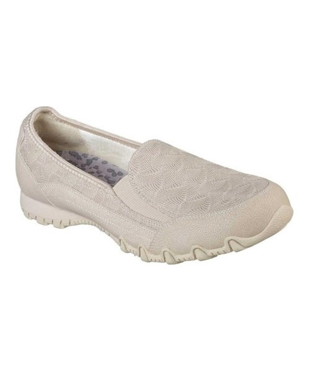 40dea5c8648ef Lyst - Skechers Women's Relaxed Fit Bikers Geminids Loafer Natural ...