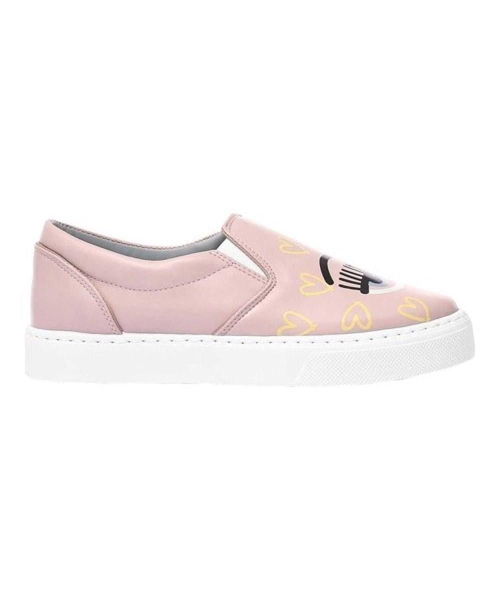 Prix De Gros De Sortie Rabais Exclusif Chiara Cuir Ferragni Slip-on Sneaker (des Femmes) ocMLGjpA