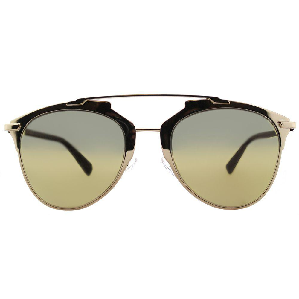 b72ee4231cc Dior - Metallic Cd Reflected Yc2 K1 Gold Plum Aviator Sunglasses - Lyst.  View fullscreen