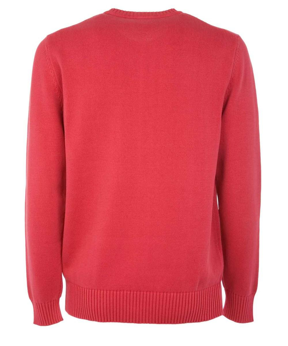 Aspesi Men's Red Cotton Sweater in Red for Men | Lyst