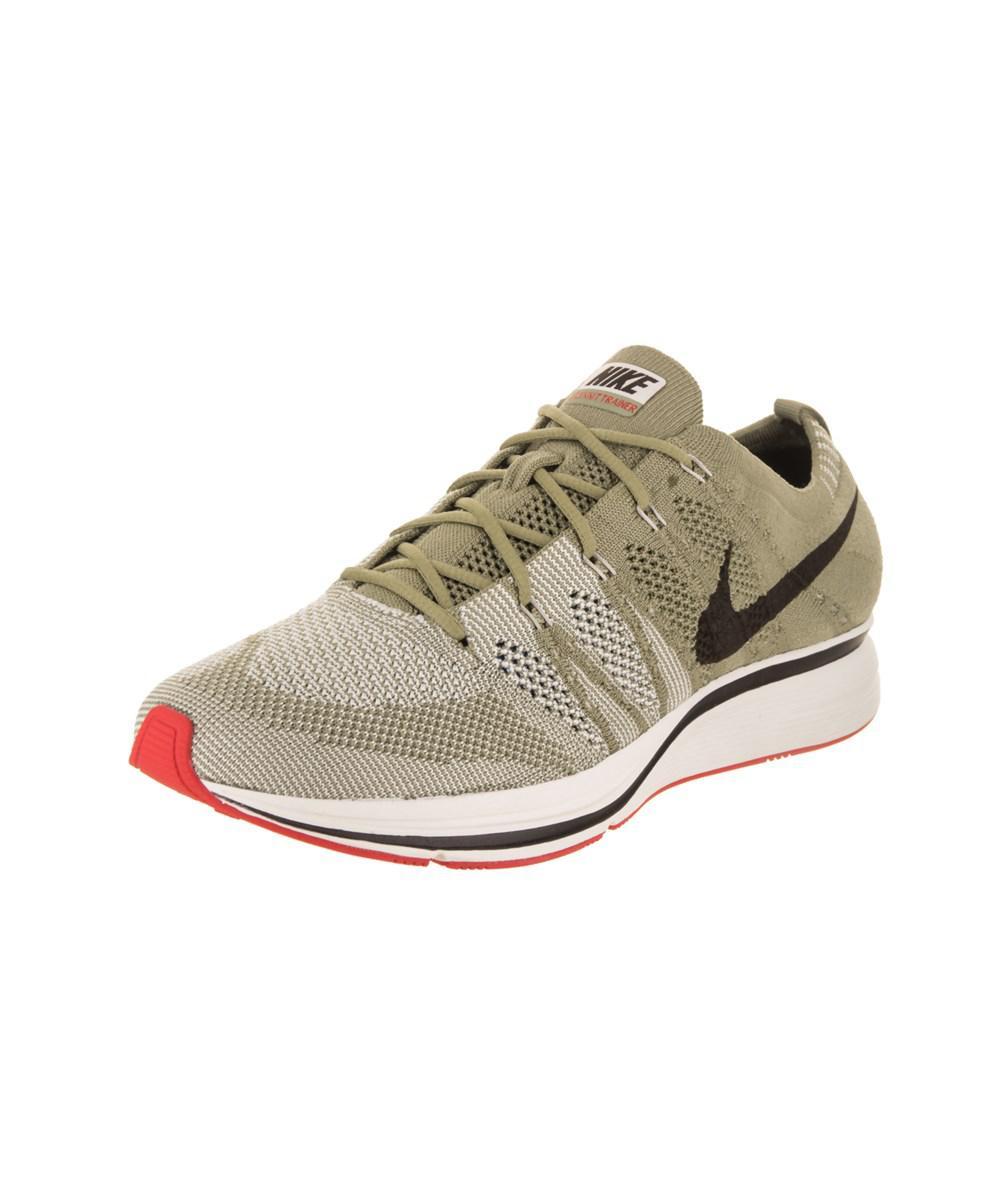 Lyst - Nike Men s Flyknit Trainer Training Shoe in Green for Men 77bd5b71c