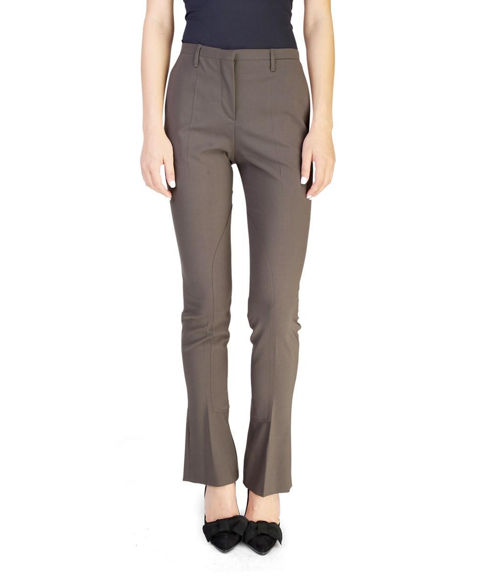 Wool-blend trousers Prada CxTwQcC