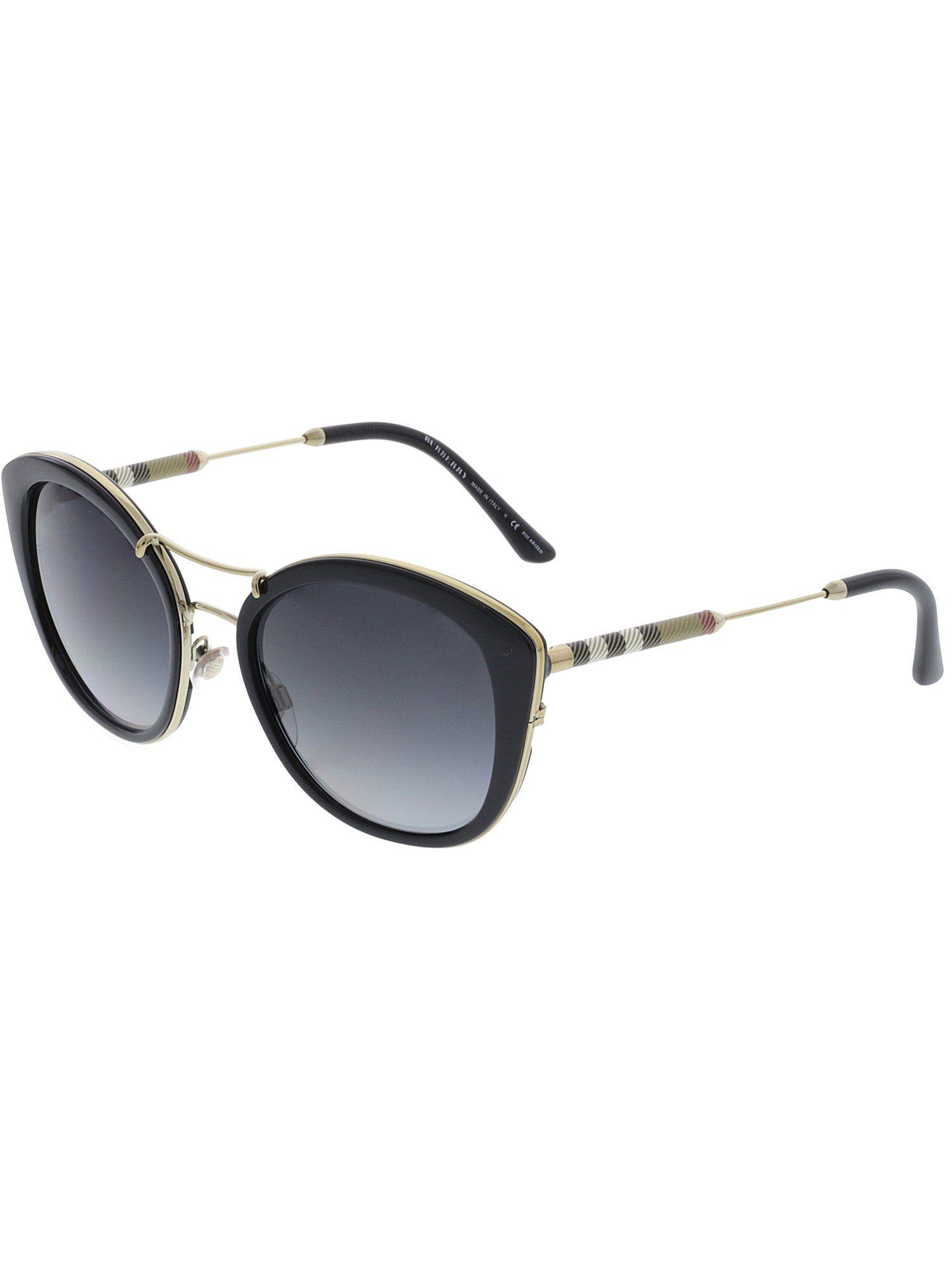76bcb592b149 Lyst - Burberry Women's Polarized Be4251q-3001t3-53 Black Cat Eye ...