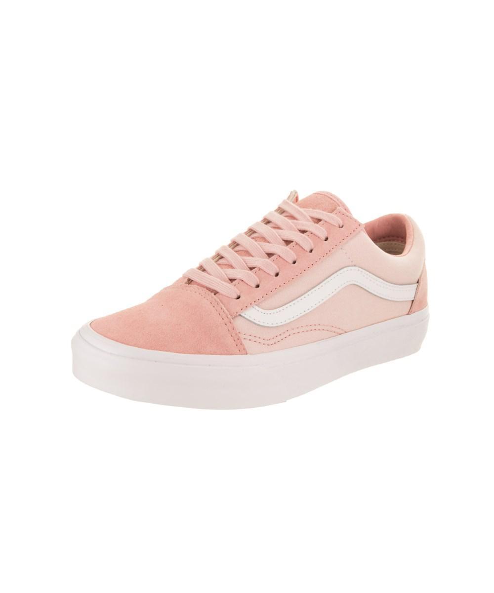 416ea3e7c49fcc Lyst - Vans Unisex Old Skool (suiting) Skate Shoe in Pink