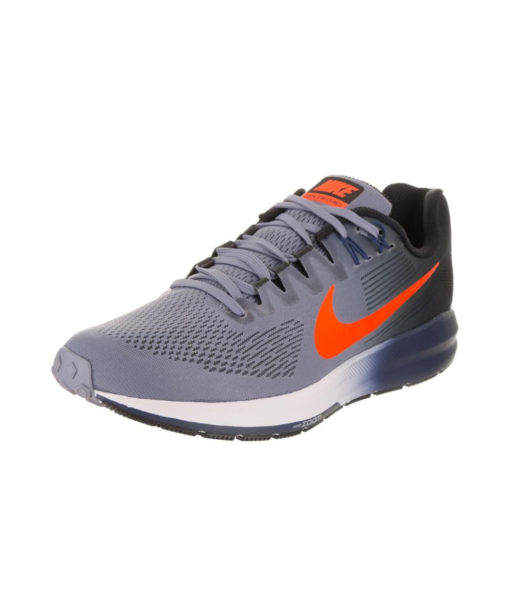 679e390c8c4f9 Lyst - Nike Men s Air Zoom Structure 21 Running Shoe in Blue for Men