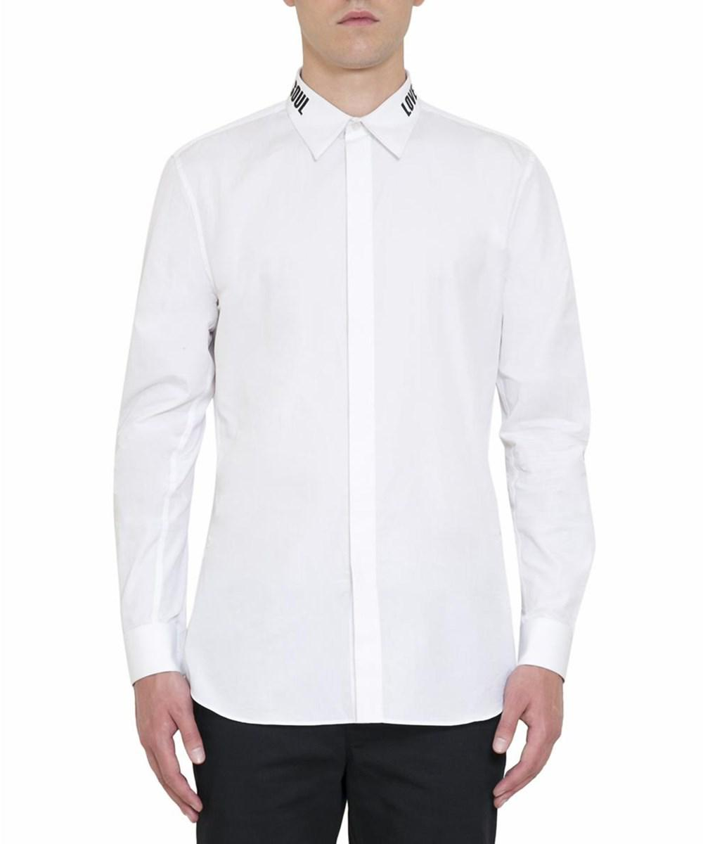 Lyst Givenchy Mens White Cotton Shirt In White For Men