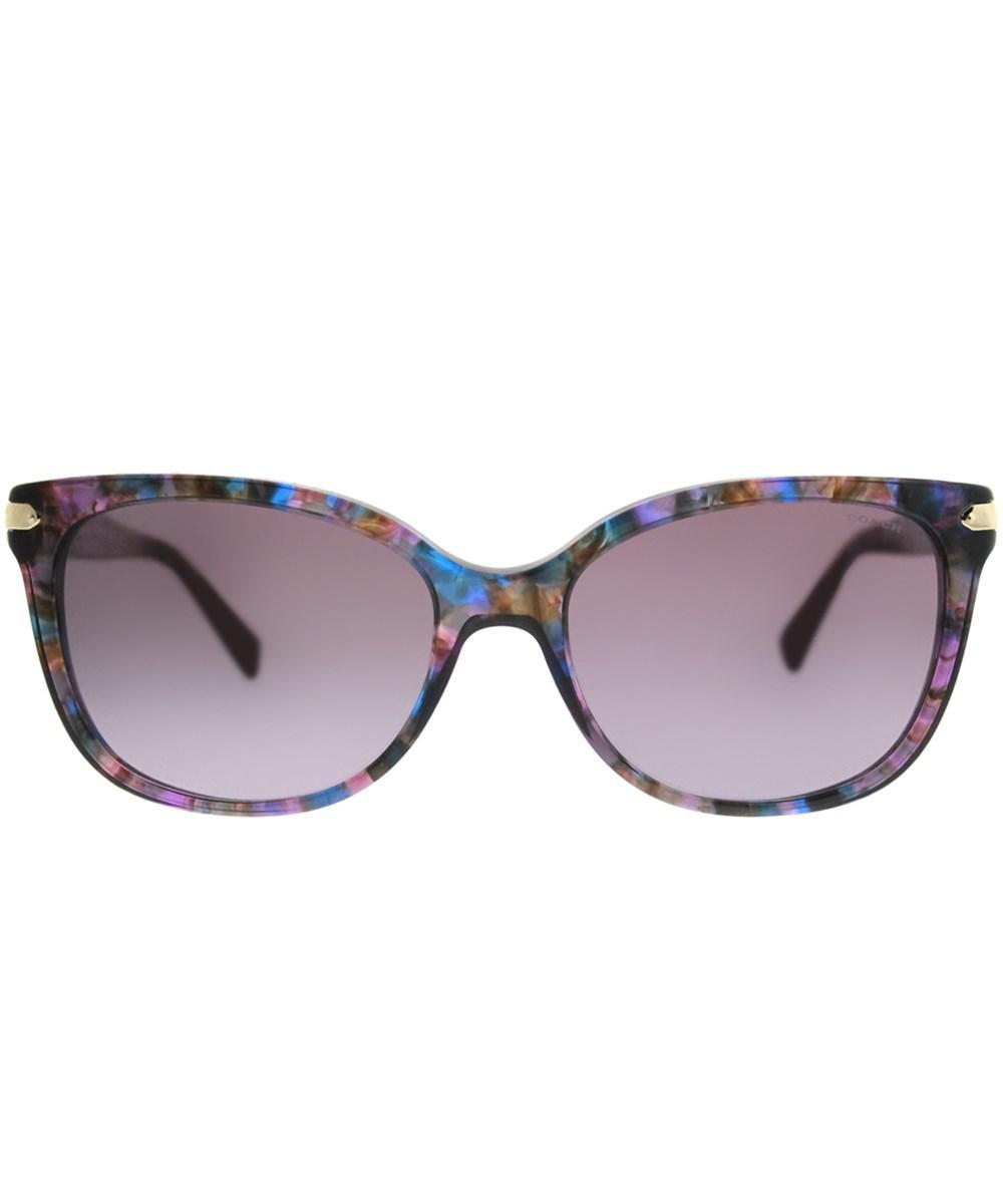 515f7c1add6 Lyst coach confetti purple cat eye sunglasses jpg 1000x1200 Confetti purple  coach suns