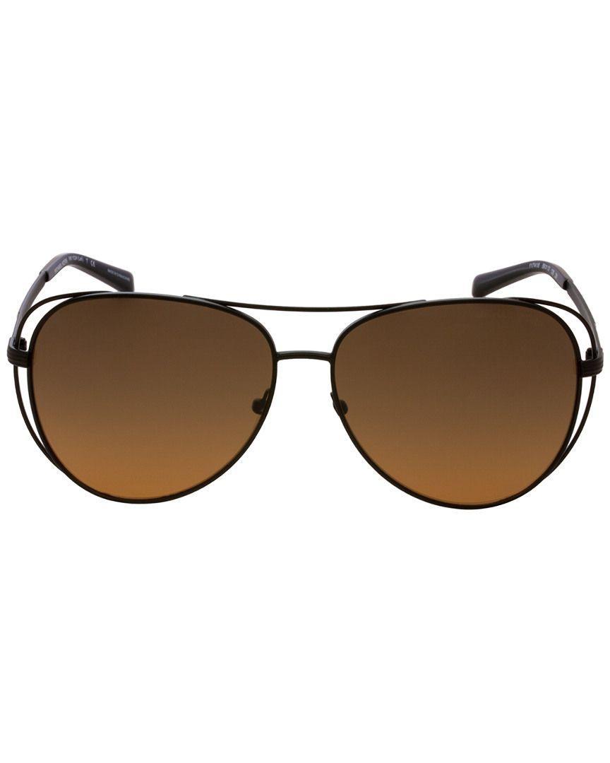 26ee6e87661e1 Lyst - Michael Kors Women s Mk1024 58mm Sunglasses in Brown