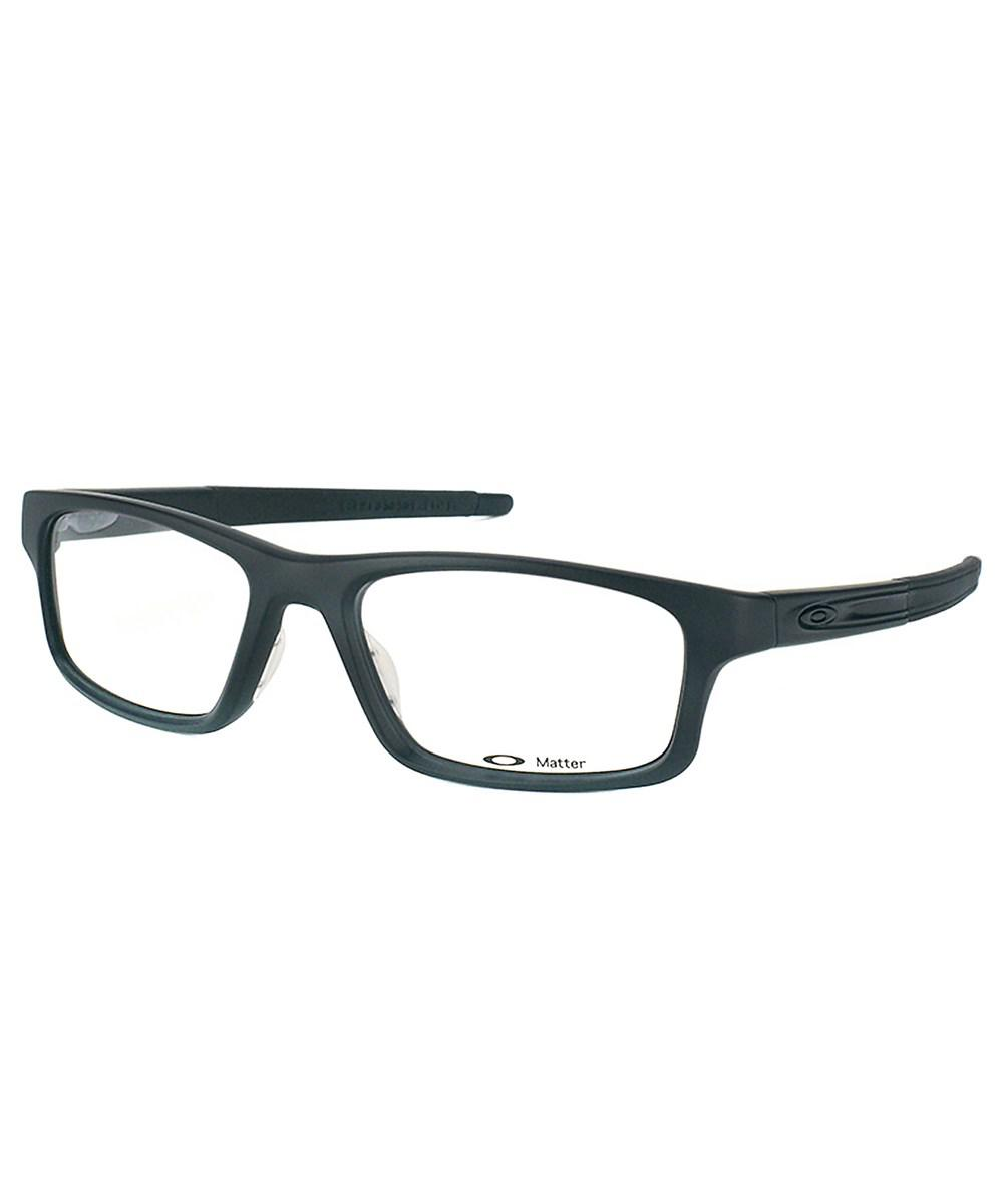 45e83faf212 Lyst - Oakley Pitch Ox8037 Rectangle Plastic Eyeglasses in Black