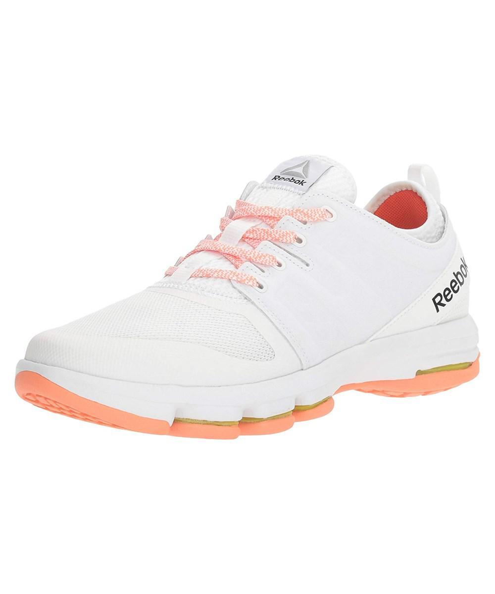 Lyst - Reebok Women s Cloudride Dmx Walking Shoe in White 14802412e