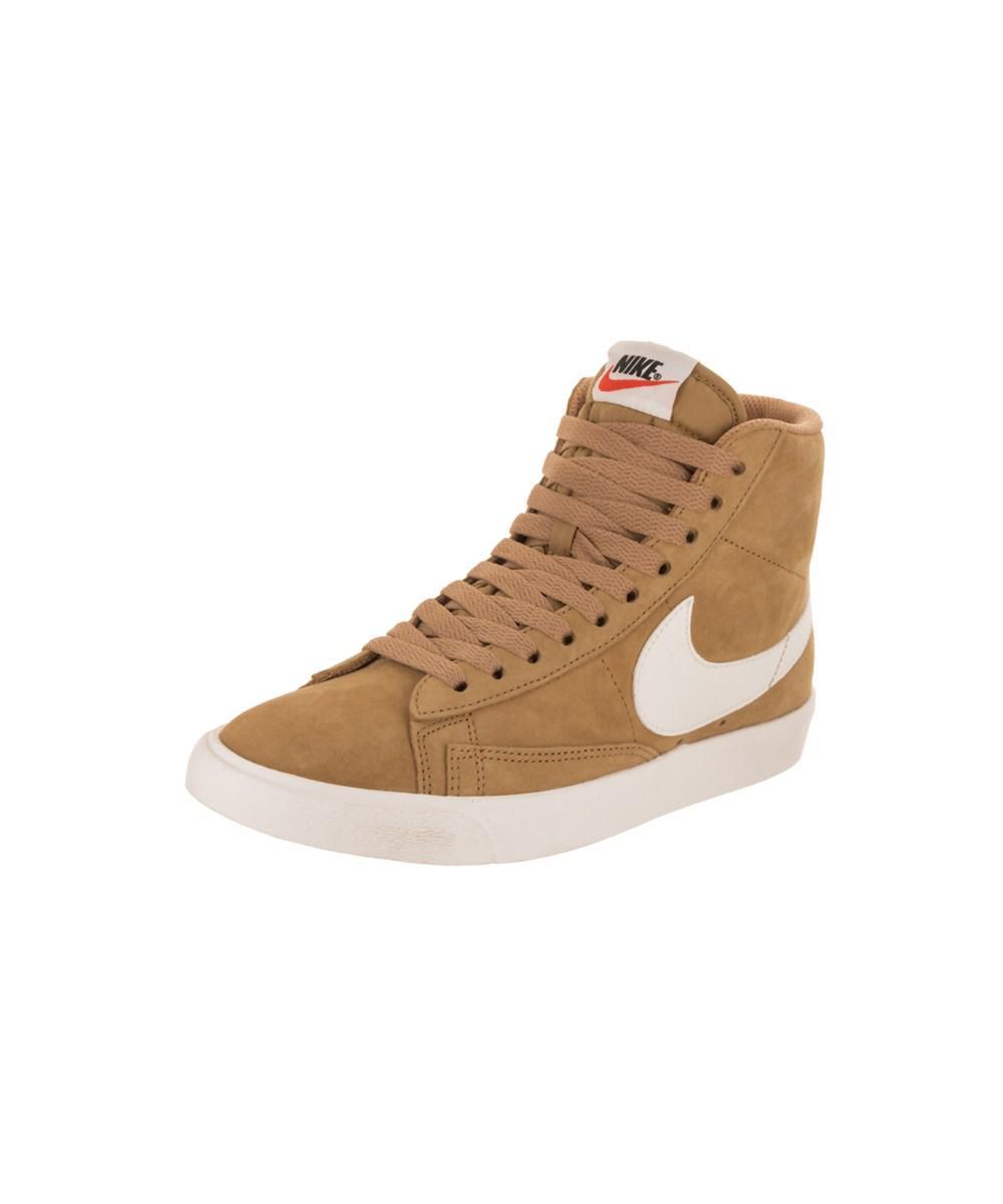 best service 124e6 02da7 Nike. Metallic Womens Blazer Mid Vntg Suede Casual Shoe