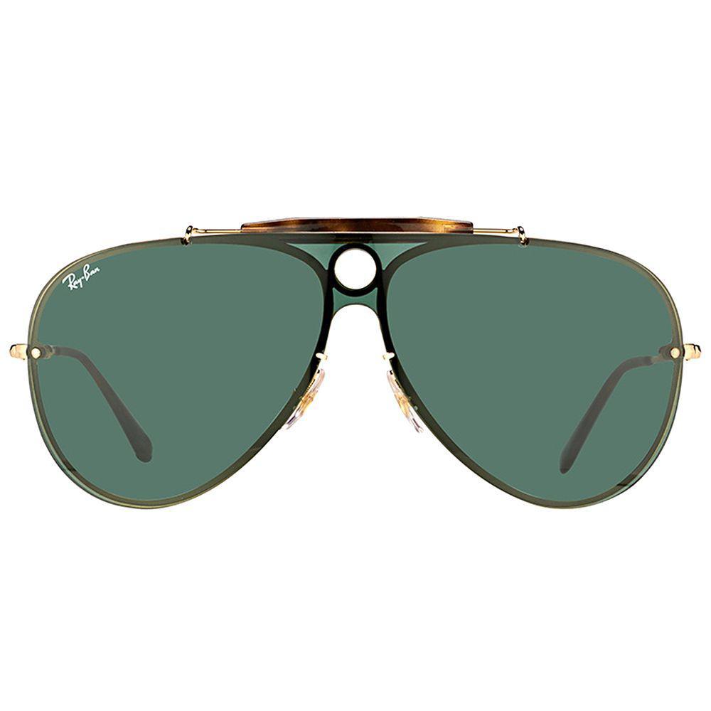 52151b6012 Ray-Ban - Green Blaze Shooter Rb 3581n 001 71 Arista Aviator Sunglasses -.  View fullscreen