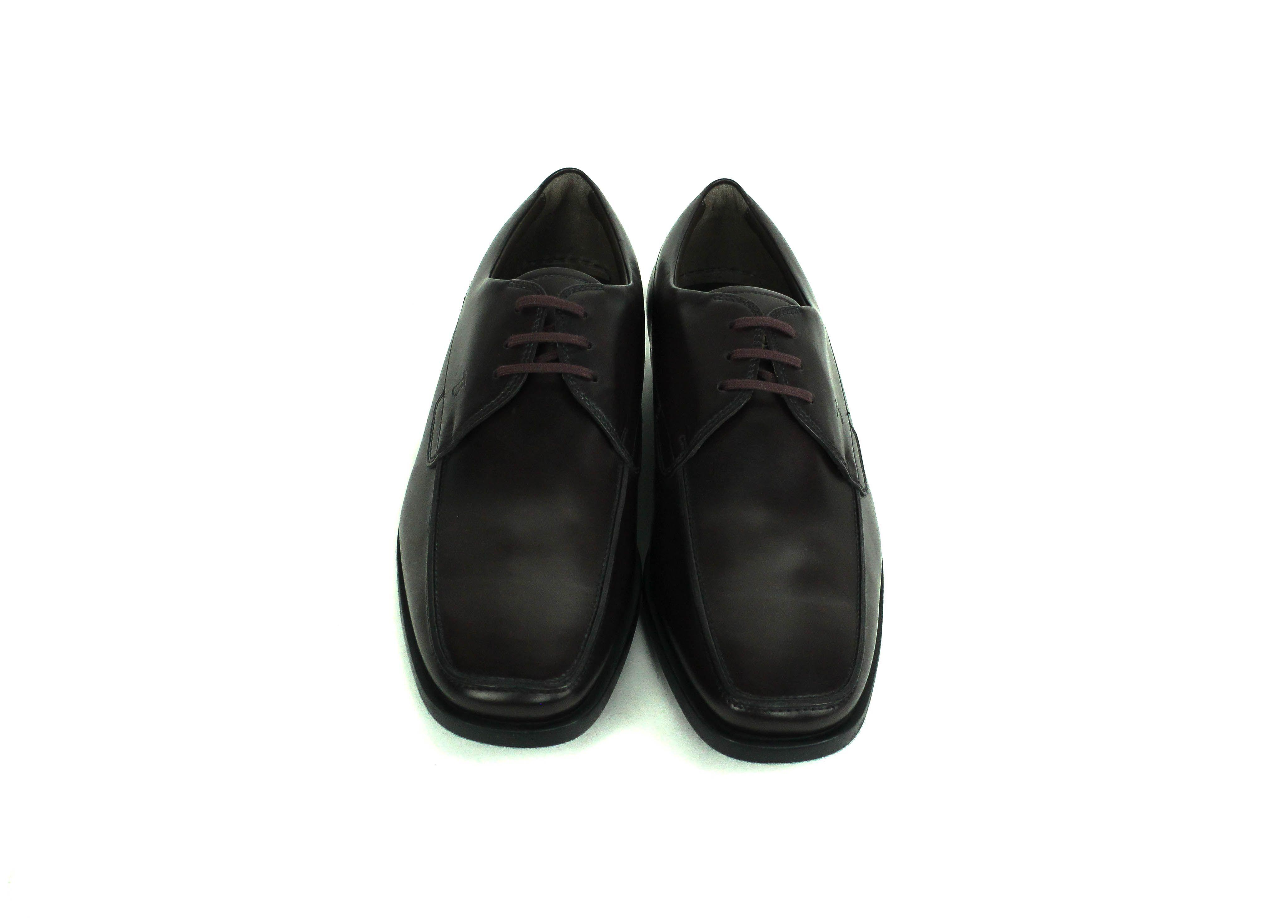 31d1d08b341 Tod's - Black Mens Burgundy Brown Leather Oxford Shoes for Men - Lyst. View  fullscreen