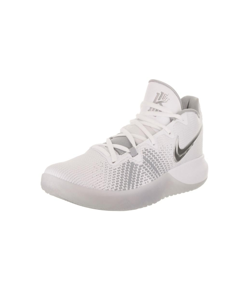 55e9fbd443ee ... where to buy lyst nike mens kyrie flytrap basketball shoe in white for  men 38385 d005f