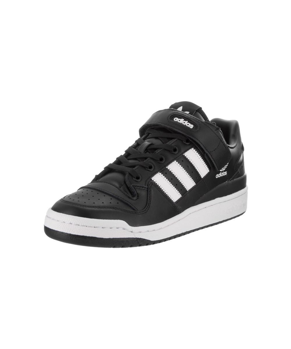 lyst adidas uomini raffinati originali una scarpa nel forum al nero