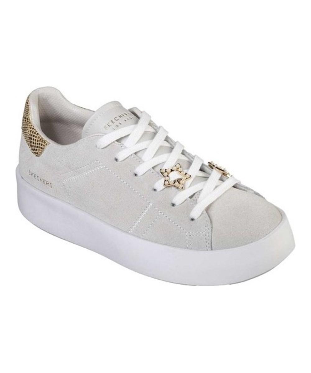 Lyst - Skechers Women s Traffic- Starry Mood Sneaker Off White Size ... 61e61bab4