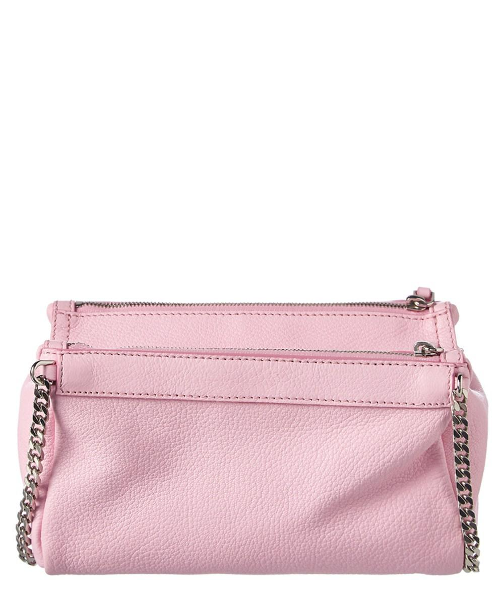 0f6b99f1b54d Lyst - Givenchy Mini Pandora Leather Crossbody in Pink