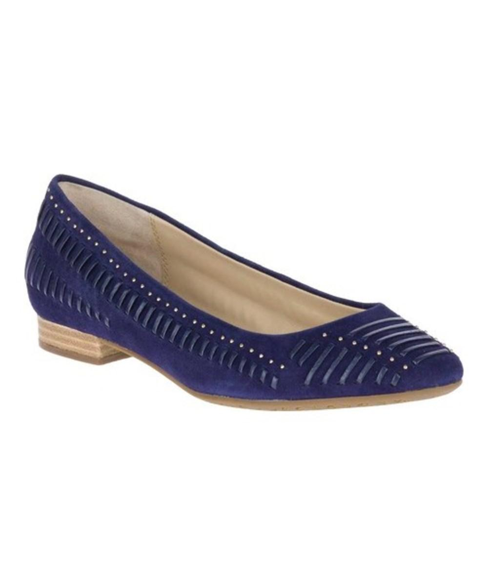 Lyst Hush puppies Donna Skimmer Phoebe Ladder Stud Skimmer Donna Royal Navy   549d67