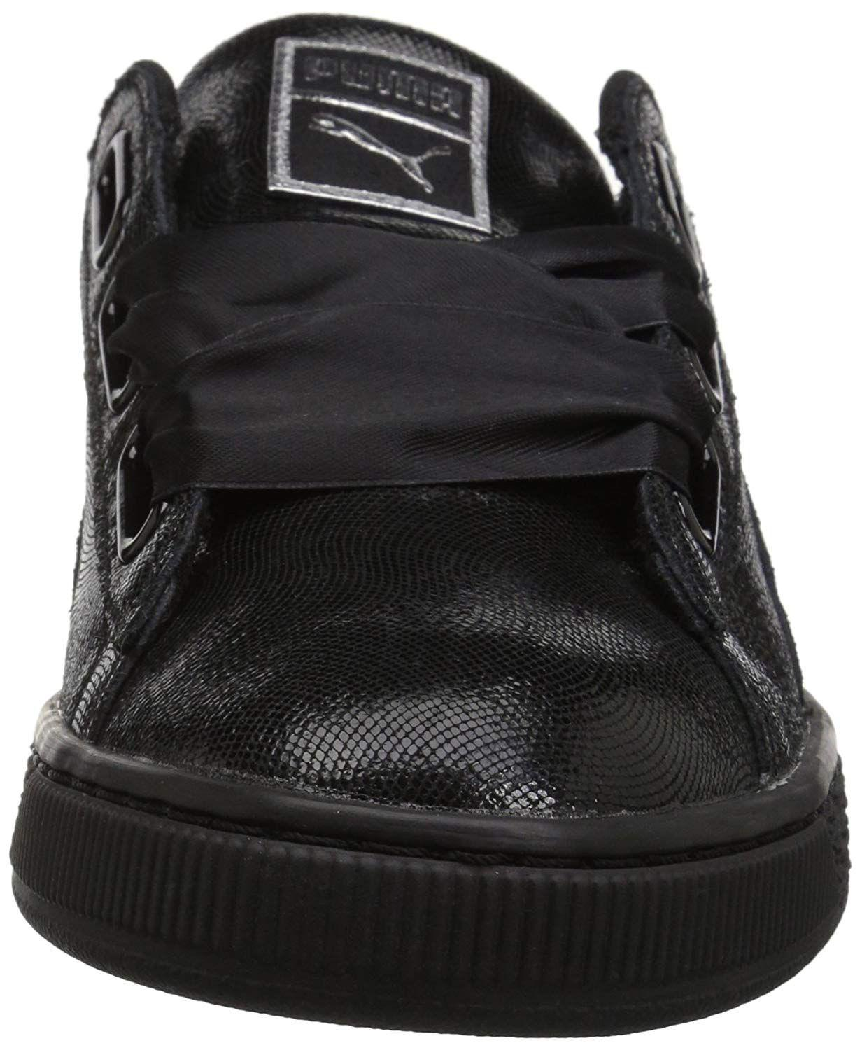 6d848c020313 Lyst - Puma Women s Basket Heart Ns Wn Sneaker in Black