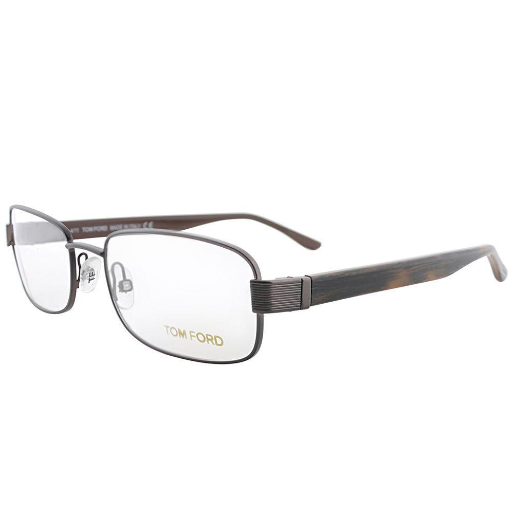 b419d4d00d Lyst - Tom Ford Ft 5092 731 54mm Satin Brown Rectangle Eyeglasses in ...
