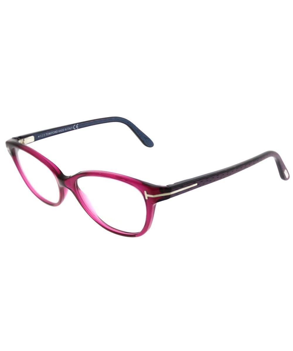 163201b2864f Tom Ford Ft 5299 075 Berry Cat-eye Eyeglasses - Lyst