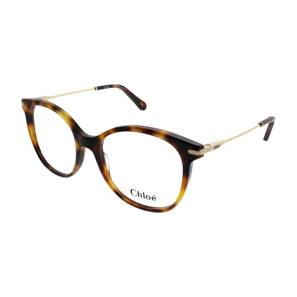 1bacbbe0562 Chloé - Multicolor Ce 2721 218 54mm Havana Square Eyeglasses - Lyst. View  fullscreen
