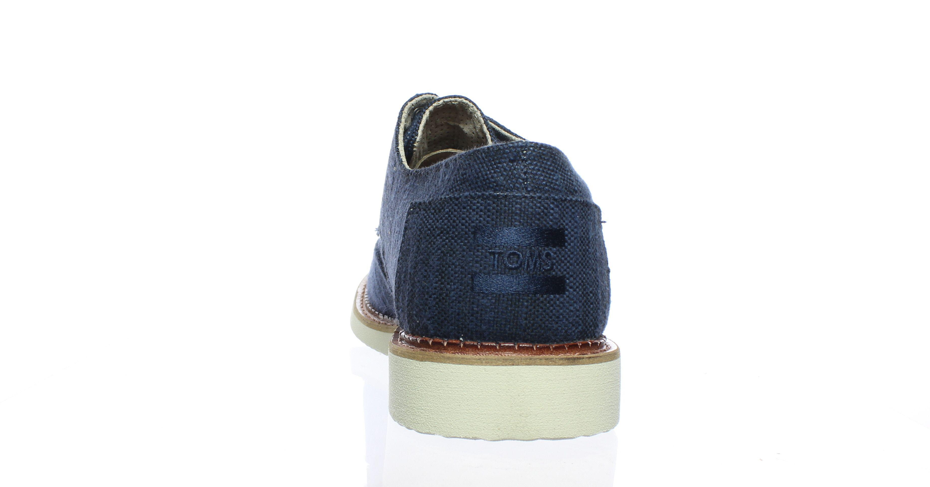 88bb886642f TOMS - Blue Mens Brogue Oxford Dress Shoe for Men - Lyst. View fullscreen