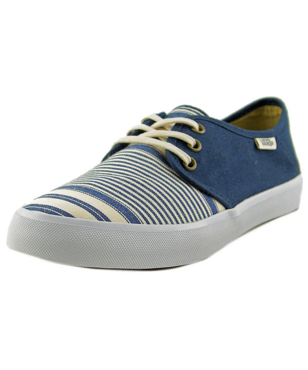 Tazie SF Women Round Toe Canvas Blue Sneakers