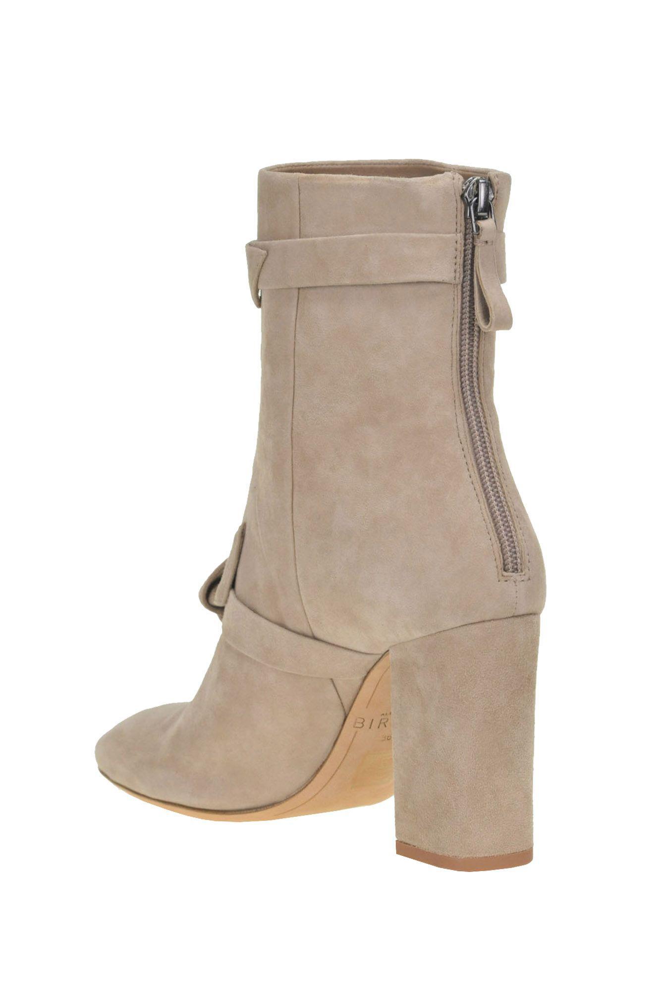 292a6890600f Lyst - Alexandre Birman Women s Grey Suede Ankle Boots in Gray