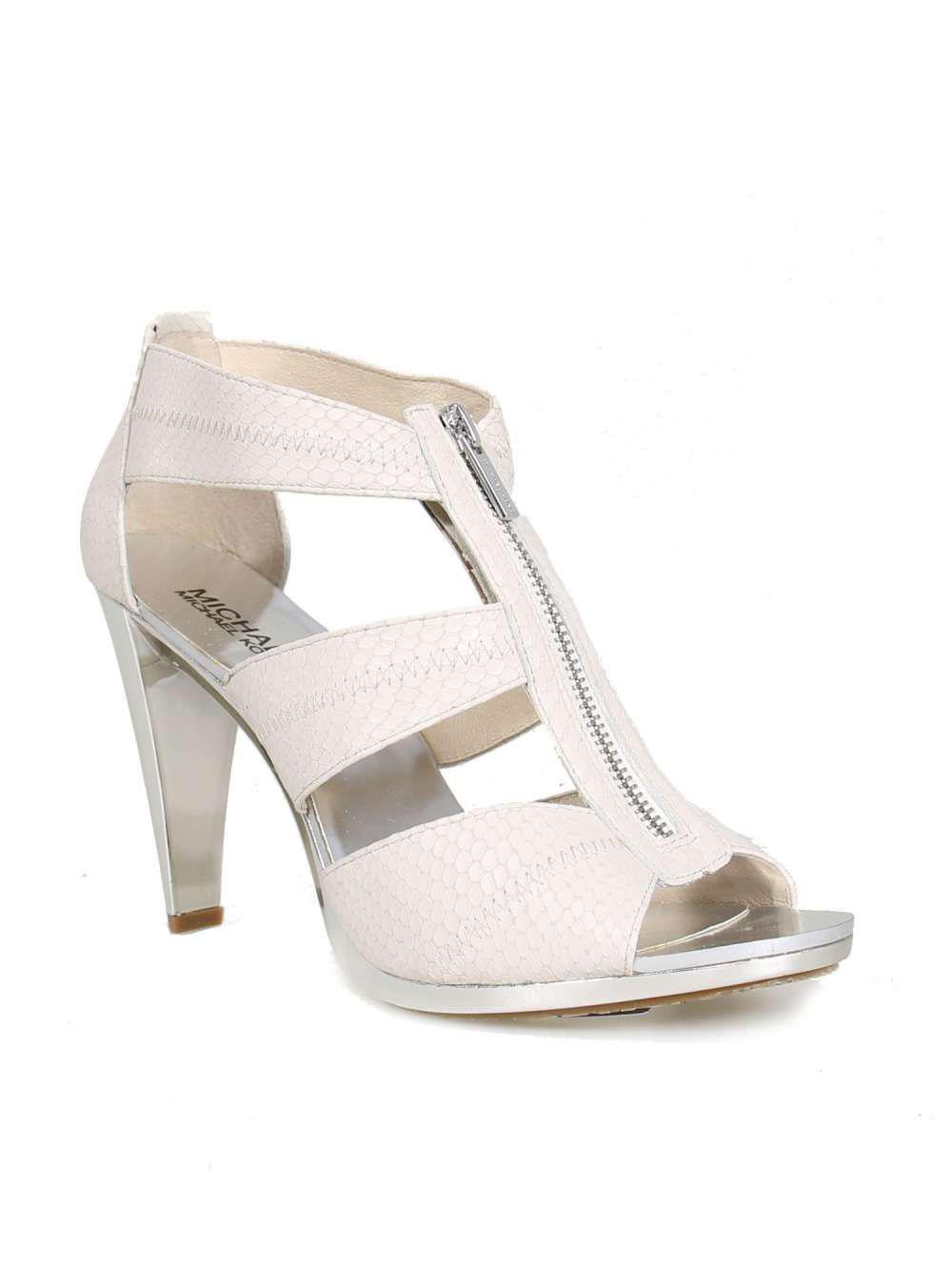 02274e7851f4 Lyst - Michael Michael Kors Womens Berkley Canvas Open Toe Classic ...