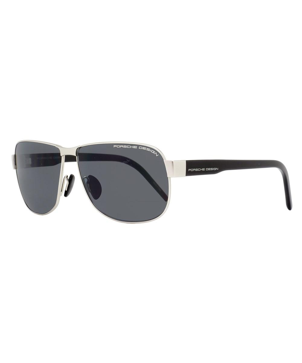 2a507e7f99 Porsche Design - Rectangular Sunglasses P8633 D Ruthenium black 8633 for Men  - Lyst. View fullscreen