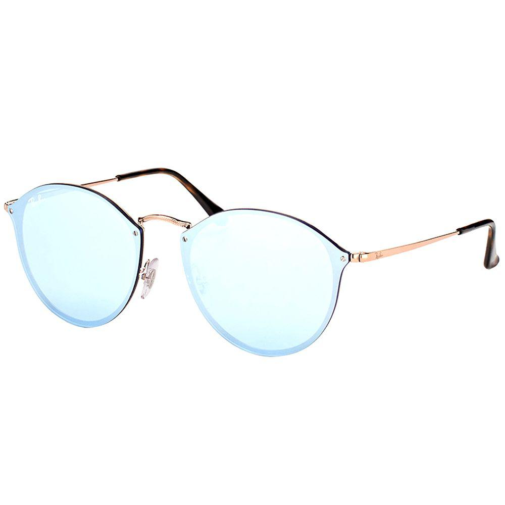f80ee6f5714 Ray-Ban. Women s Rb 3574n 90351u Copper Round Sunglasses
