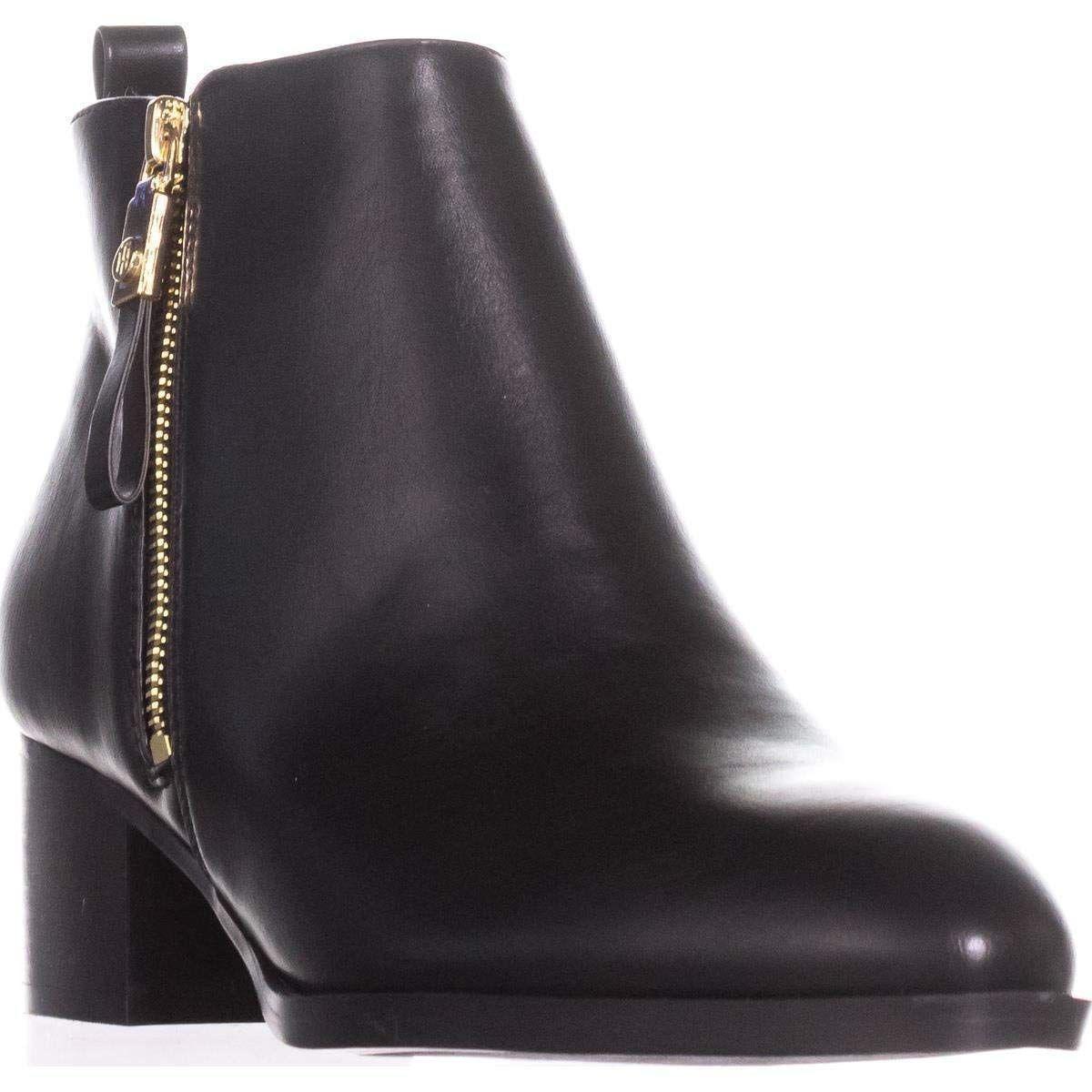 fa617f5464eff Lyst - Tommy Hilfiger Womens Twreiz2 Almond Toe Ankle Fashion Boots ...
