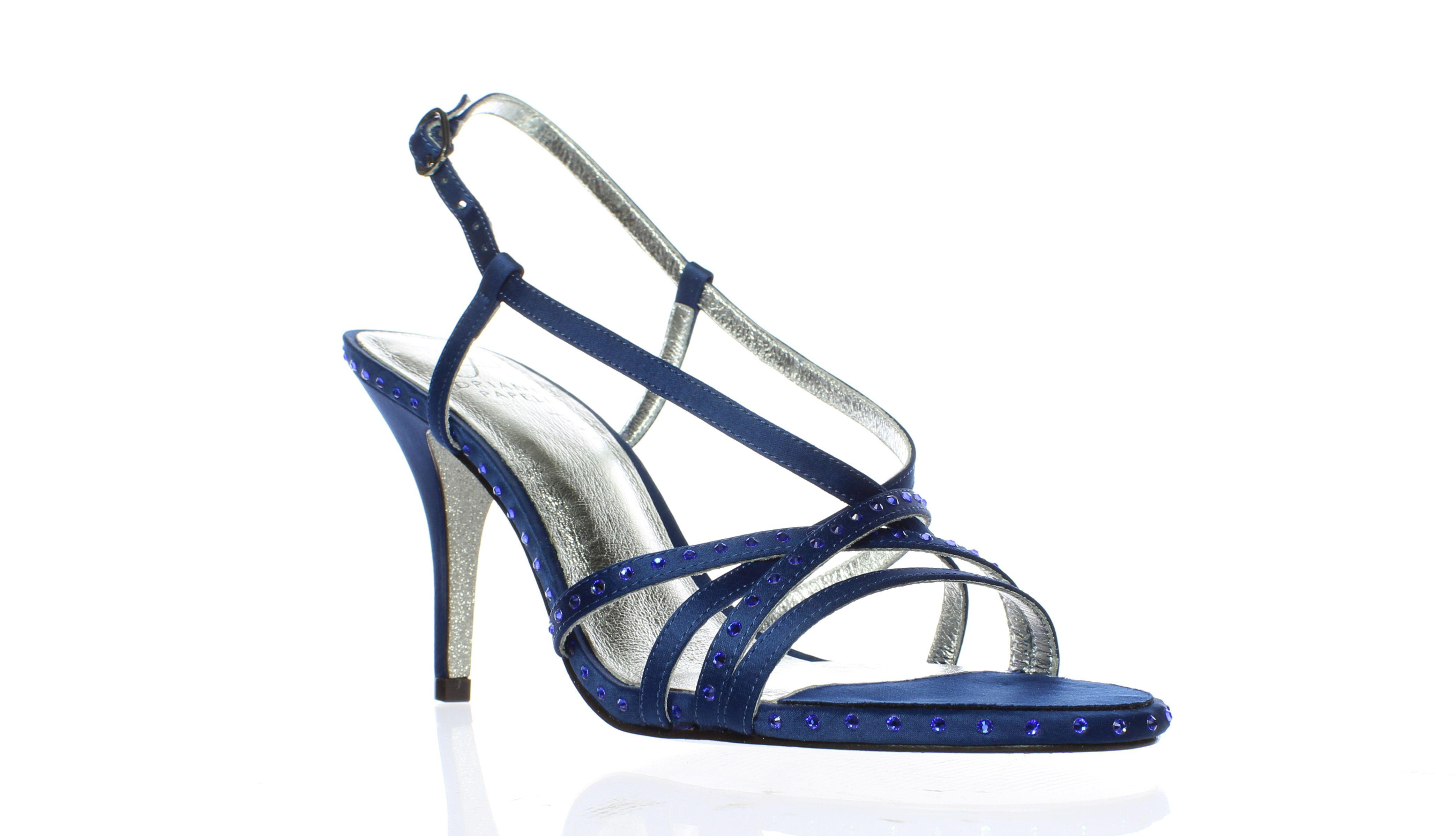 488e58b117ea Lyst - Adrianna Papell Womens Acacia Sapphire Open Toe Heels in Blue