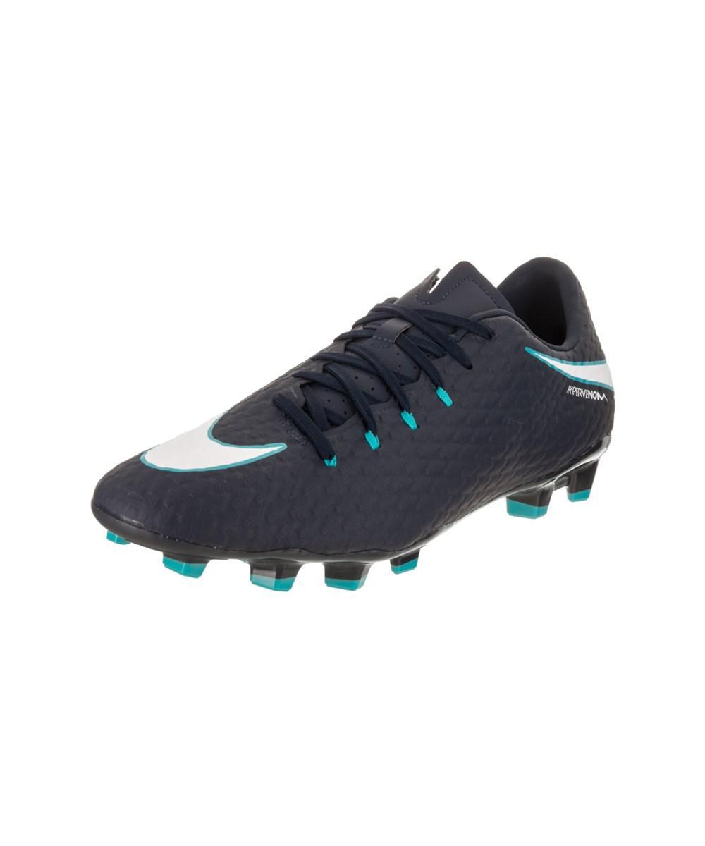dcb56654a4ac Lyst - Nike Men s Hypervenom Phelon Iii Fg Soccer Cleat in White for Men