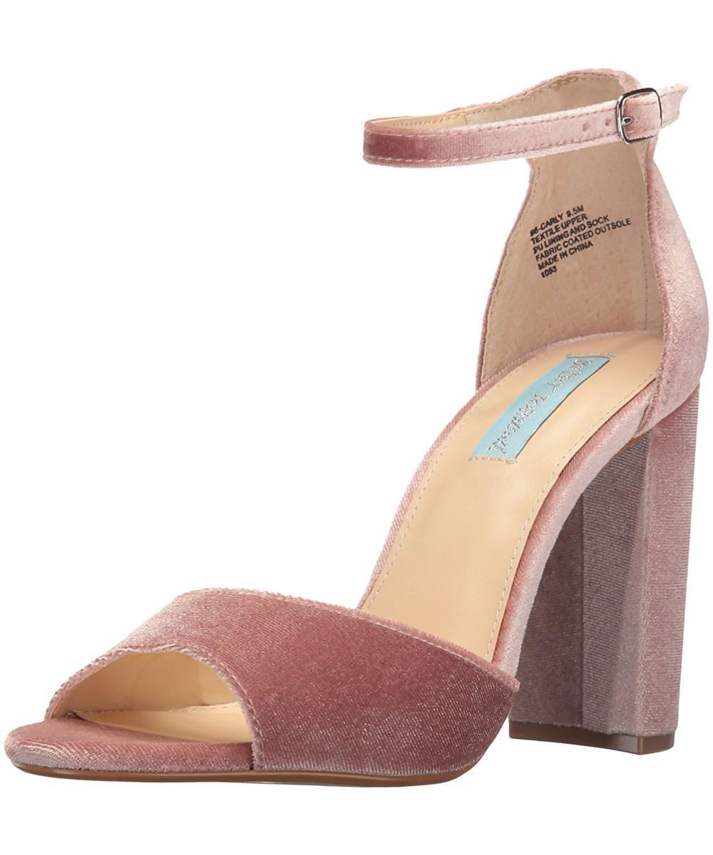 e96ed28b874 Lyst - Betsey Johnson Blue By Women s Sb-carly Dress Sandal in Pink