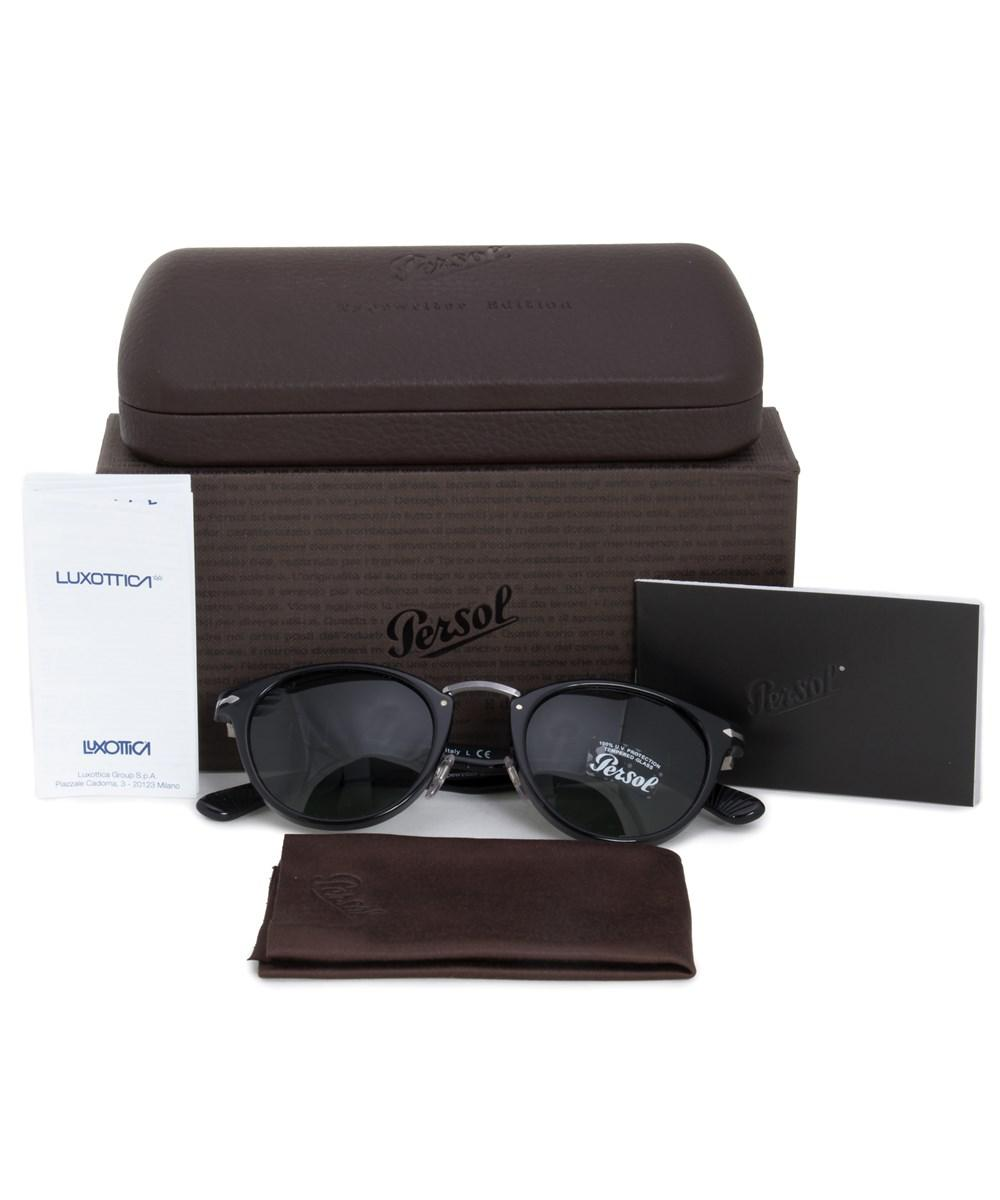 656610527778f Lyst - Persol Typewriter Edition Oval Sunglasses Po3108s 95 31 49 in ...
