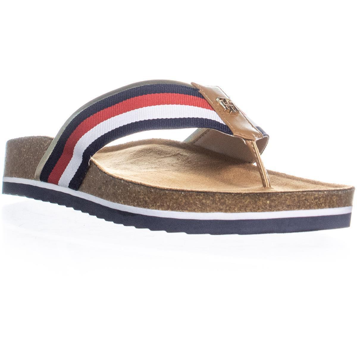 f86aa0e4d Tommy Hilfiger. Women s Giulio Flat Slide Sandals ...