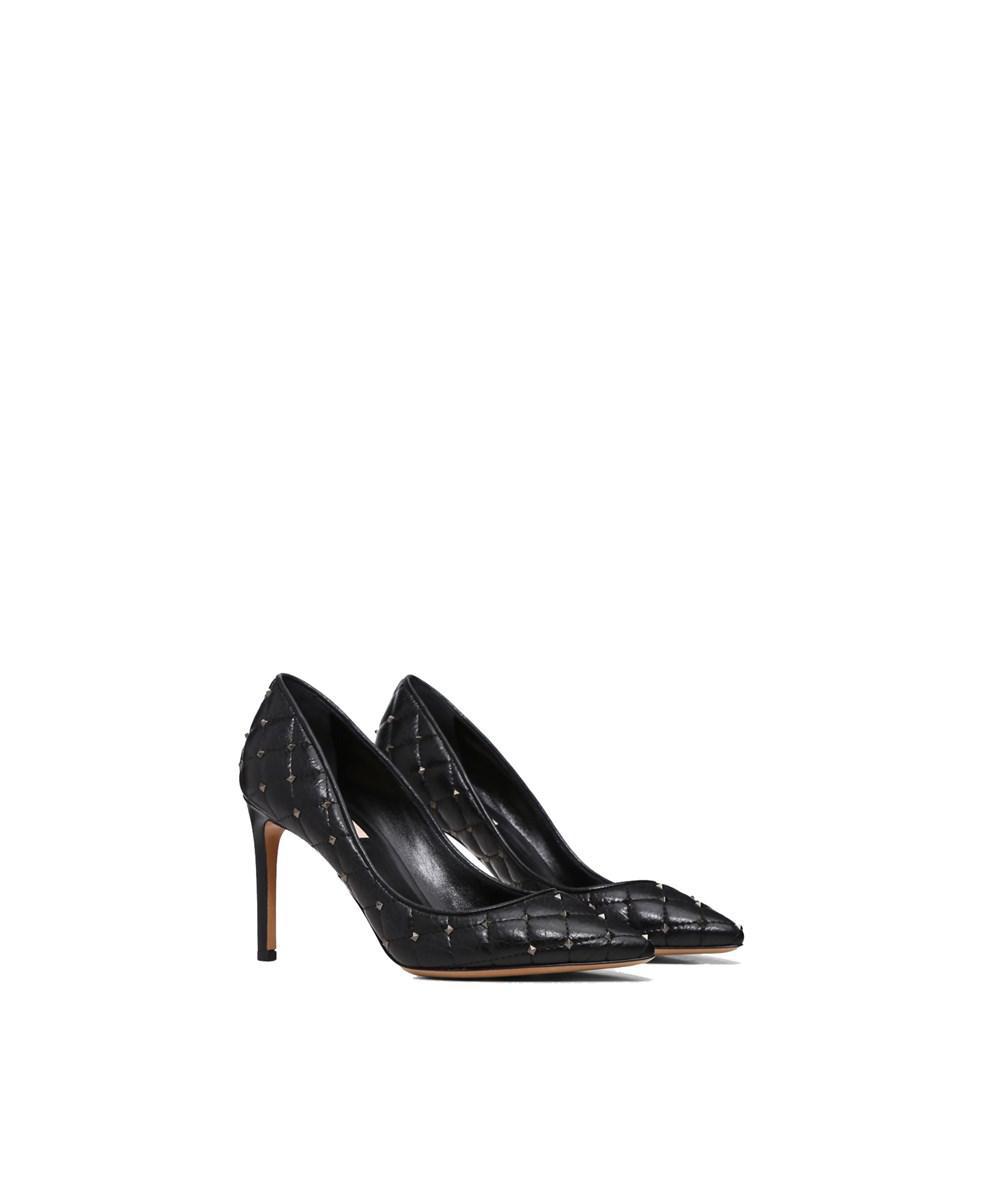 7b933440985a Lyst - Valentino Garavani Women s Qw2s0h89llq0no Black Leather Pumps in  Black