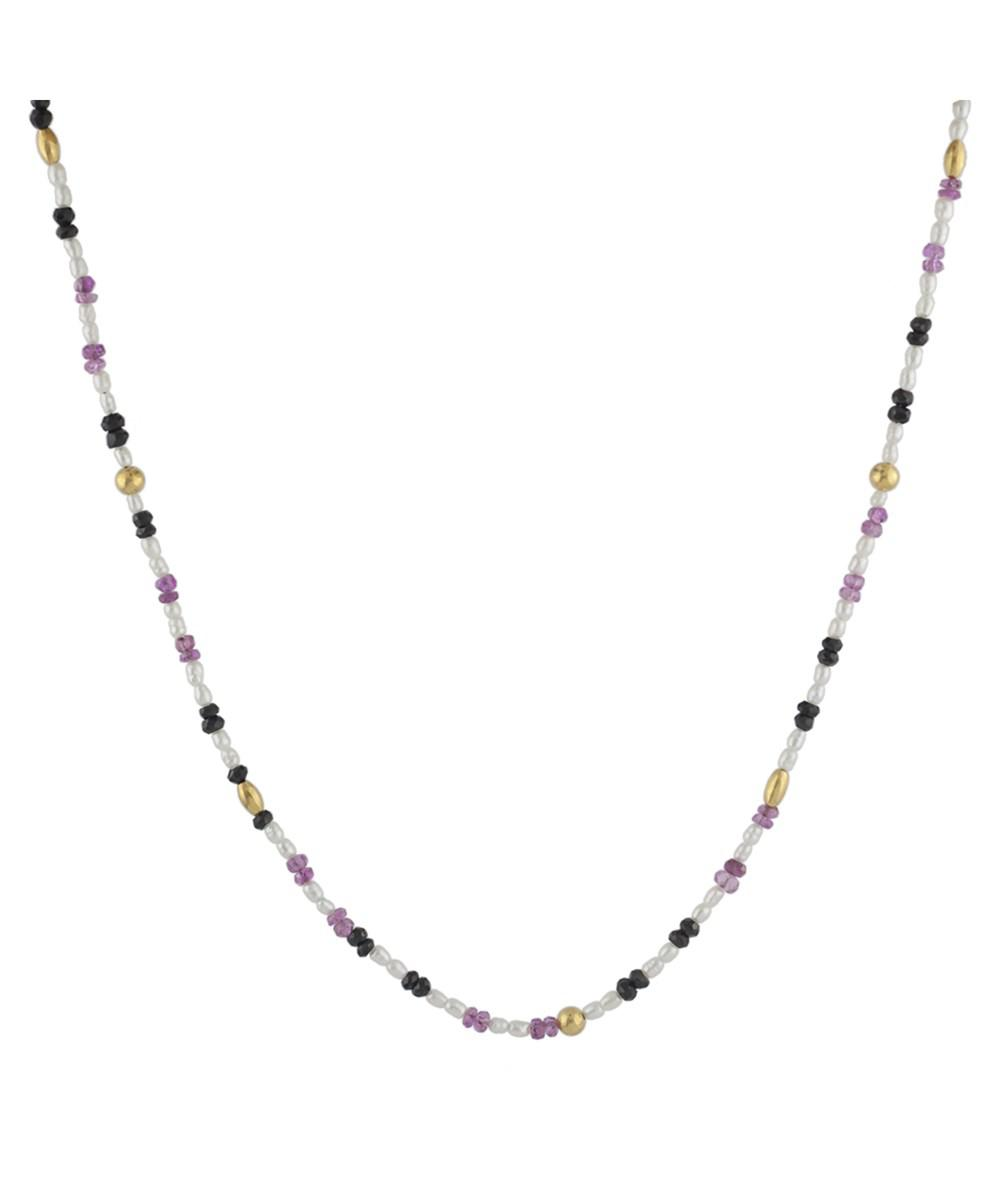 Gurhan 24k Flurries Mixed Stone Necklace ixo40H8h