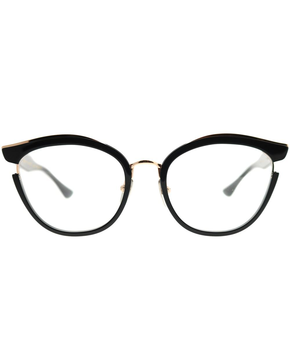 d33f293931d2 Dita - Mikro Black - Rose Gold Round Sunglasses - Lyst. View fullscreen
